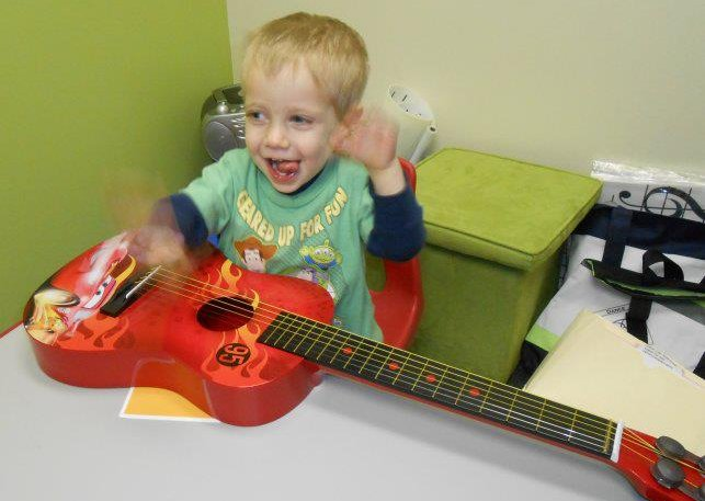 Music classes for toddlers and the young child are taught at AMA!