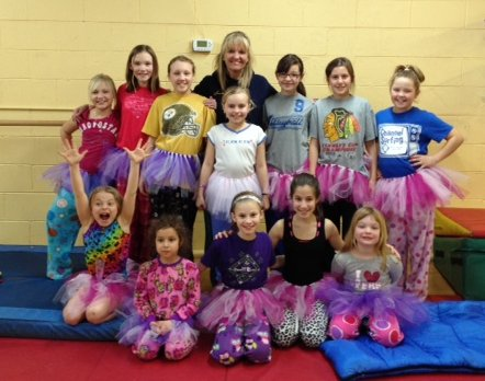 Group shot from the tutu project.