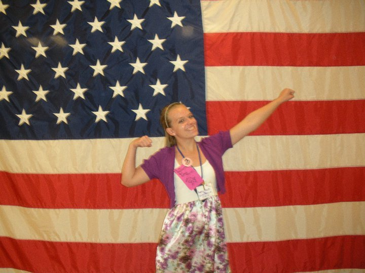 Kendall at Girls State Camp