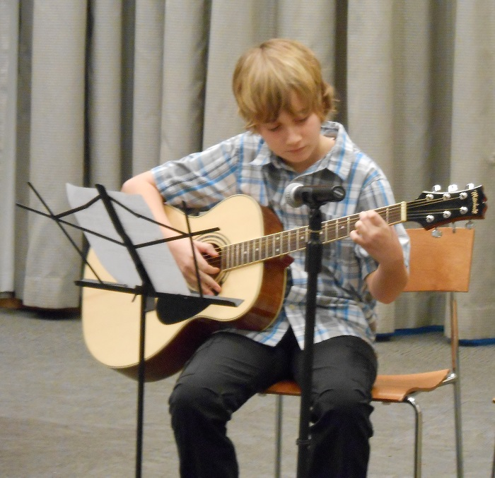 AMA student performs